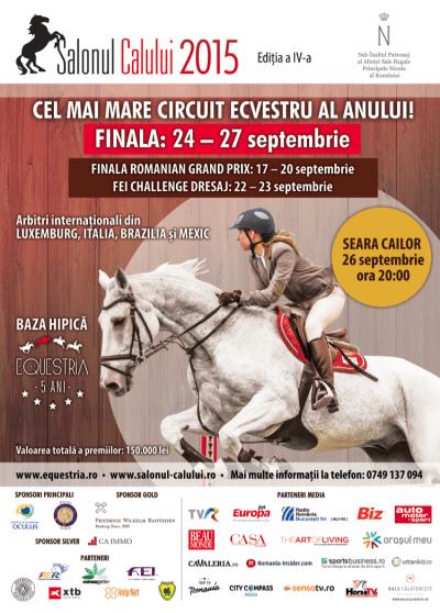 Finala Salonul Calului, intre 24 – 27 septembrie