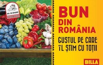 Bun de Romania, de la Billa