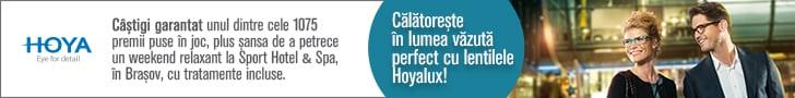 Calatoreste in lumea vazuta perfect cu lentilele Hoyalux!