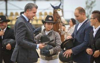 Principele Radu si Principesa Maria,  invitati de onoare la Finala Circuitului Salonul Calului