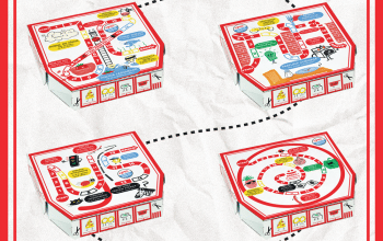 Packaging nou pentru Jerry's Pizza