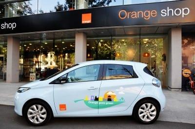 Orange Romania are patru masini electrice