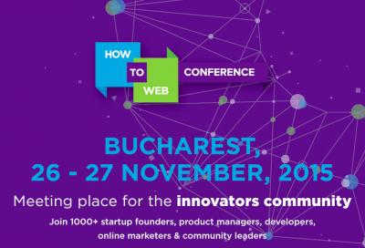 Antreprenori si profesionisti internationali la How to Web Conference
