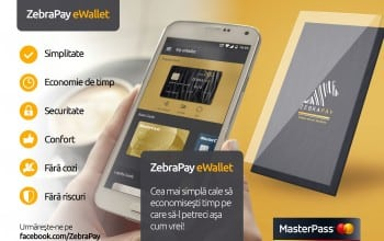 MasterPass, integrat in ZebraPay Wallet