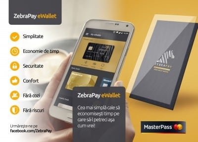 MasterPass, integrat in ZebraPay Wallet