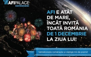 Campanie aniversara AFI Palace Cotroceni