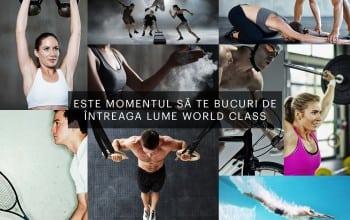 17 cluburi de fitness intr-un singur abonament