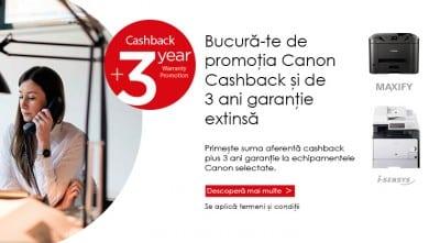 Canon Cashback, o campanie pentru antreprenori