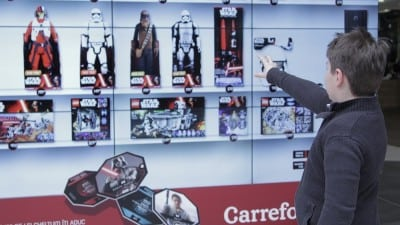Carrefour testeaza Forta cu tehnologia Kinect