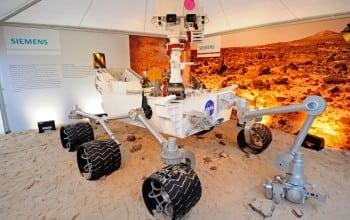 Siemens aduce la Bucuresti replica robotului Curiosity