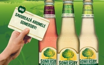 Cidrul Somersby, de acum si in Romania