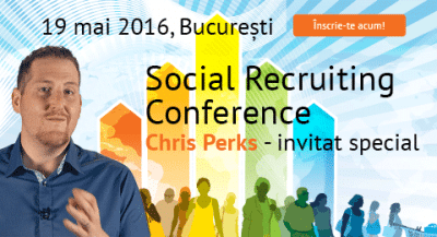 Trainer-ul Google vine la conferinta Social Recruiting Conference