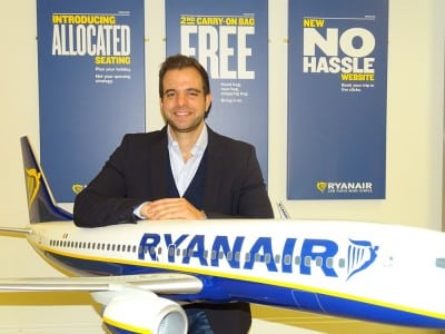 Ryanair are un nou director responsabil pentru afacerile publice