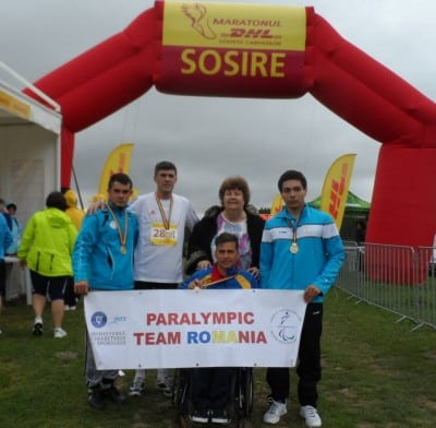 Sprijin pentru sportivii paralimpici
