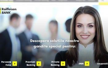 Raiffeisen Bank lanseaza noul www.raiffeisen.ro
