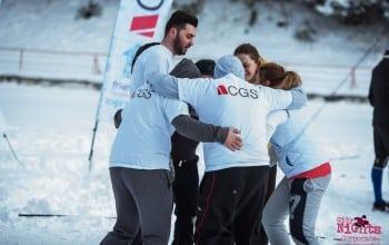 Echipa CGS Romania, castigatoare la Winter Corporate Games
