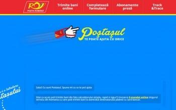 Postasul digital, prima campanie exclusiv digitala de la Posta Romana