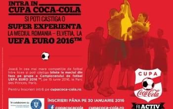 Cupa Coca-Cola a ajuns la o noua editie
