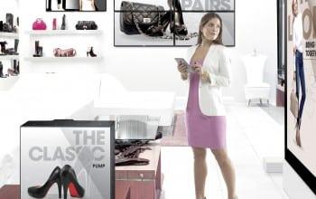 Experiente interactive in retail cu afisaj digital