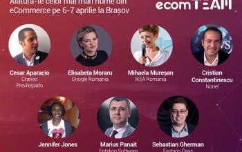 Specialistii din e-commerce si digital vin la ecomTEAM 2016