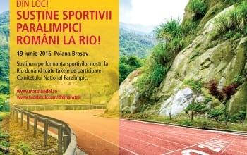 Maratonul DHL Stafeta Carpatilor sustine sportivii paralimpici