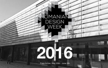 Romanian Design Week are loc in perioada 20 mai – 5 iunie