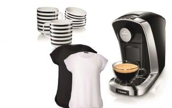 Cafea, in alb si negru