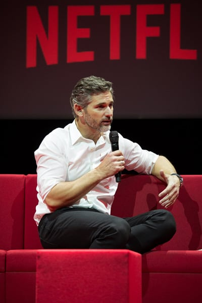 Netflix Event, Paris 11.04.2016 Special Correspondents Panel Eric Bana