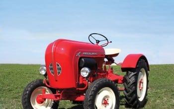 Tractor Porsche si dozator Coca Cola, la licitatia Machine Age