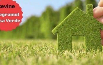 "Programele ""Casa Verde"" si ""Casa Verde Plus"" finanteaza construirea locuintelor care utilizeaza energia regenerabila"