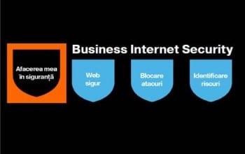 Business Internet Security,  securitate Orange pentru companii