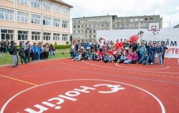O noua suprafata sportiva de la Holcim Romania