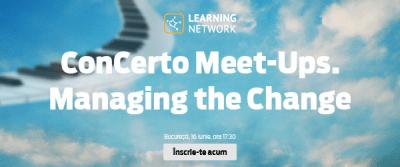 ConCerto Meet-Ups – Managing the Change