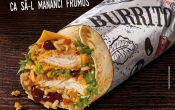 Burrito in editie limitata, de la KFC