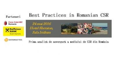 Best Practices in Romanian CSR