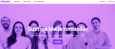 Sprijina.ro se relanseaza cu o noua identitate vizuala