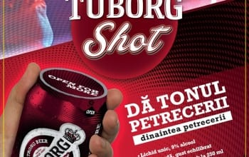 Tuborg Shot, bere cu 9% alcool