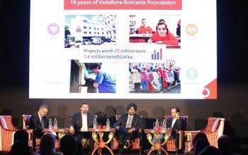 Fundatia Vodafone Romania, la majorat : 23 de milioane euro pentru sanatate, educatie, servicii sociale