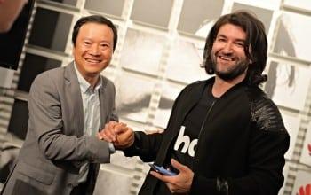 Smiley, ambasadorul Huawei in Romania