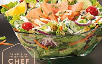 Somon Fume, o noua salata by Chef Nicolai Tand