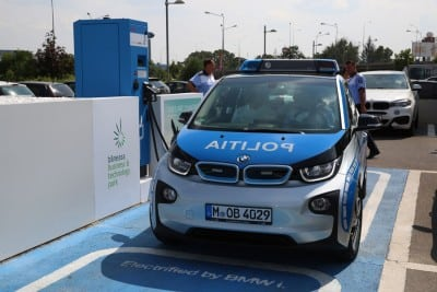 BMW i3, primul automobil electric al Politiei Romane (Galerie Foto)