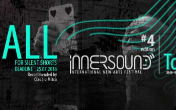 Inscrieri la InnerSound New Arts Festival pana pe25 iulie