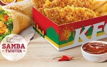 Savoare braziliana la KFC