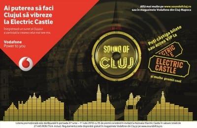 Sunetul Clujului, creat de Vodafone