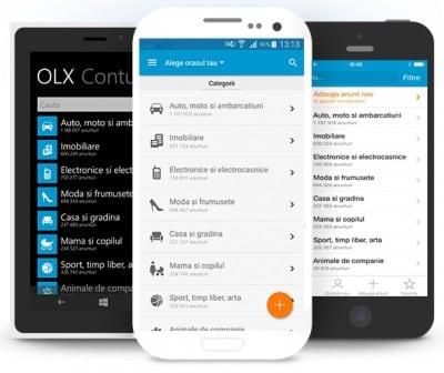 OLX, cea mai folosita aplicatie de cumparaturi online