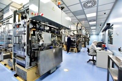 10,4 mil. euro investiți într-o fabrică de medicamente din București
