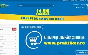 Praktiker România lansează oficial magazinul online