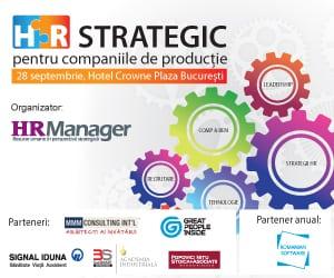 HR Strategic - pentru companiile de productie