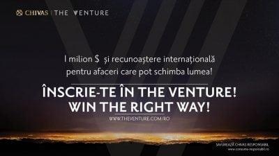 """Chivas lansează a doua ediție """"The Venture"""" în România"""