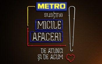 Tempo Advertising semnează campania aniversară METRO